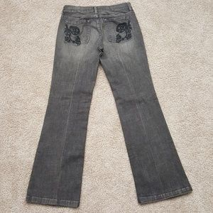WHBM Jeans Black 6R Follow Your Dreams  A2-24